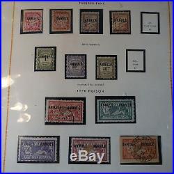 France Superbe Collection Cours D'instruction Annule Et Spécimen Cote 3635