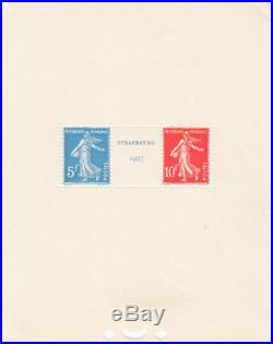 France TG 1927 Y&T 242A Exposition philatélique de Strasbourg