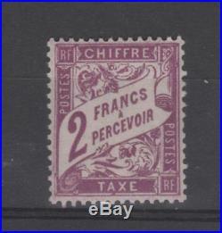 France Taxe n° 41 neuf C 750,00