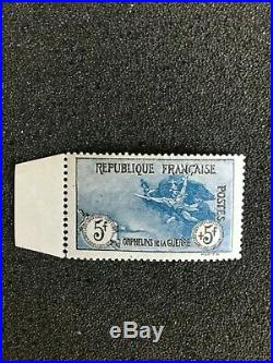 France Timbre Orphelins La Marseillaise 5f+5f N°155 Neuf Mnh A Saisir