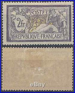France Timbre Type Merson N°122 Neuf Avec Gomme D'origine Cote 1000