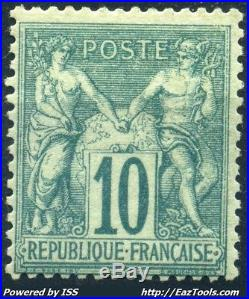 France Type Sage N° 65 Neuf Avec Charniere Cote 1200 A Voir