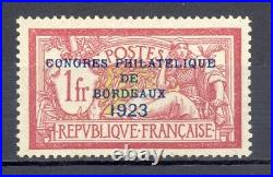 France Yvert 182, sans charnière. Centrage! Cote 1.385 euros. RARE