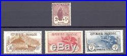 France Yvert 229-232, neuf, gomme originale, sans charnière. Cote 590 euros