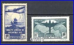 France Yvert 320+321, sans charnière. Cote 840 euros