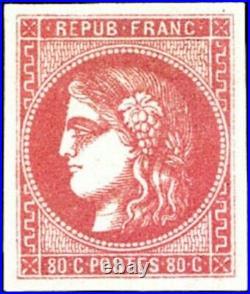 France classique neuf n°49 signé Maury certificat cote YT 725