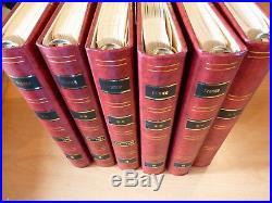 France collection 1970-2008 dans 6 albums Leuchtturm. 99% complète. SUPER