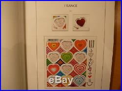 France collection 2011 sur pages Leuchttrum. Super! Valeur faciale 235 euros