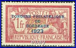 France, timbre N° 182 neuf, TB, signé Calves