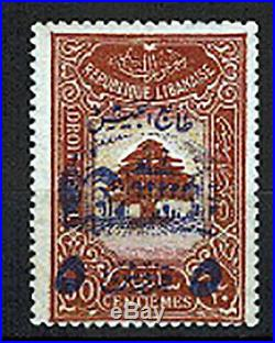 GRAND. LIBAN -TIMBRE NEUF- 5pi sur 30c BRUN FISCAL 1945 Yv. 197