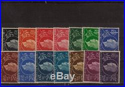 Grandes Séries Coloniales 1939/1954 Collection de séries complètes, neufs