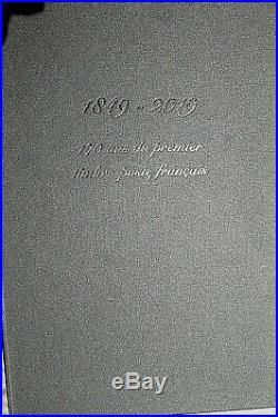 LIVRE PRESTIGE 170 ans PREMIER TIMBRE FRANCAIS CERES NOIR FEUILLE 150 TIMBRES