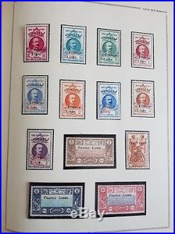 LOT #1-1 FRANCE COLONIES FRANÇAISES collection timbres PA 14 EIPA 30 albums MOC