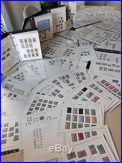 LOT #1-6 COLONIES FRANÇAISES collection de timbres dt Bénin Guadeloupe ++ en MOC