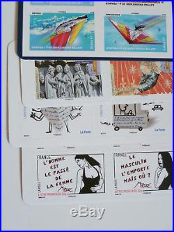 LOT 20 CARNETS TIMBRES NEUFS lettre 20 g prioritaire valeur 247 euros