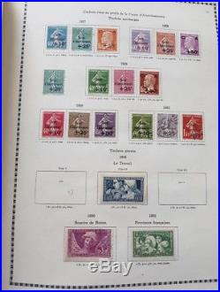 LOT #290 FRANCE collection timbres dont n°321 caisses blocs n°1 2 3 & 6 ++ PA 15