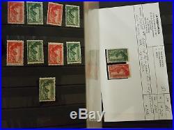 LOT #315 FRANCE collection timbres dt carnets Samothrace paire n°5 4 retouchés R