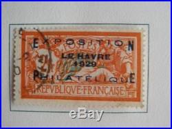 L' Affaire France Collection Timbres 1929-1938 A Voir