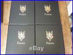 Lot 10 Classeurs Davo France 1849 A 2015. Tres Bon Etat