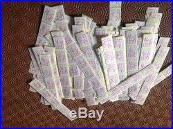Lot 250 timbres TVP Lettre Rouge Marianne 20g Valeur faciale 262,50