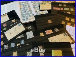 Lot / Collection timbres classiques maj. 1er choix dt lettres, bonnes valeurs ++
