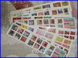 Lot De 11 carnets de 14 timbres valeur permanente et prioritaire faciale 197,12