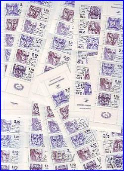 Lot De 50 Bandes Carnets 2360a Luxe