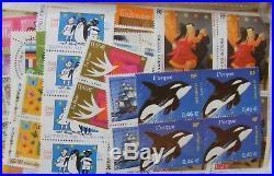 Lot FRANCE timbres neufs FACIALE 750 pour 490,50 LIVRAISON GRATUITE