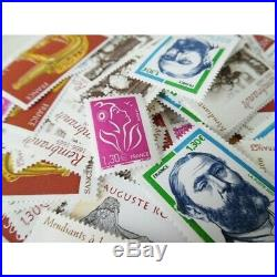 Lot FRANCE timbres neufs valeur FACIALE 350! Pour affranchissement permanent