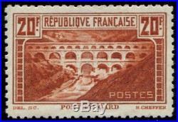 Lot N°2687 France N°262B Dentelé 11 Très bien centré Neuf LUXE