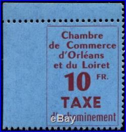 Lot N°4468 France Timbre de Grève N°2a Dentelé 3 côtés Neuf LUXE