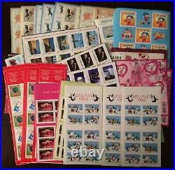 Lot SOUS-FACIALE de 370 timbres TVP 20g. Prioritaire, faciale 473,60