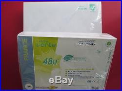 Lot de 100 enveloppes prêt à poster lettre verte 50 g