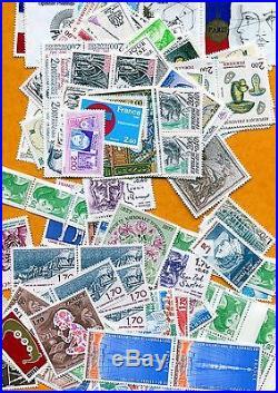 Lot z562 lot de timbres de France neuf sous faciale 500 euros -40%