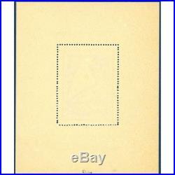 Lvf N°1 Bloc-feuillet De L Ours Neuf 1941 Signé Calves