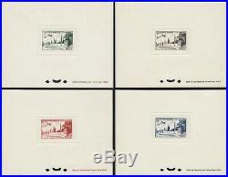 MAROC 1952 PA n°98/92 non-émis, série complète en épreuve de luxe TB