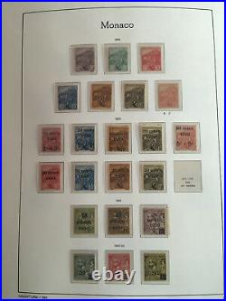 MONACO EXCEPTIONNELLE COLLECTION NEUFSxx LUXE 1885 A 2010 COMPLETE SAUF 1 TIMBRE