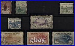 N°148 à 155 ORPHELINS DE LA GUERRE Timbres de France Charnière // 1917-18