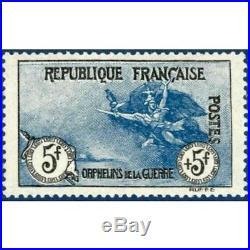 N° 155 Orphelins De La Guerre 1917 Timbre Neuf