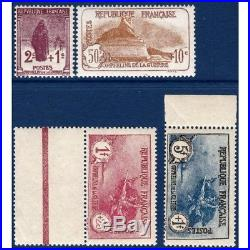 N° 229 A 232 Serie Orphelins De Guerre, Timbres Neufs 1926