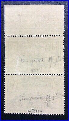 N° 300b Normandie bleu Turquoise Neuf Signe Calves Confirme au dos Cote 920