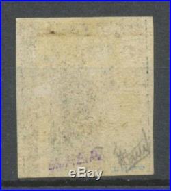 N°3b 20c noir sur CHAMOIS, Neuf, Gomme d'origine, cote 1 100, SUP X4501