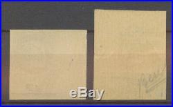 N°552c, 1f. 50 Pétain SANS SURCHARGE Non Dentelé, deux cdf, N X4525