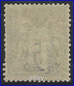 N°64 Sage 5c Vert Type I N sous B Neuf 1876 Signé Calves