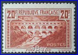 No. YT 262B, Dentelure linéaire, Neuf, Signé Brun+certificat, TTB, cote 2400