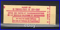 Nouvelle Caledonie Carnet De 10 Timbres P. A. Le Concorde Neuf N°139 C 370