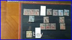 Obock Collection la plupart Neufs, et quelques oblitérés grosses pieces signées