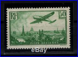 P111422/ France / Airmail / Sg # 540 Neuf / Mint Mh / Certificate 1520