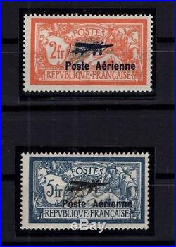 P93229/ France / Airmail / Sg # 455 / 456 Neufs / Mint Mh / Certificate 685