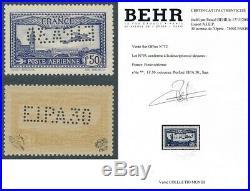 PA 6c signé 2 fois + certificat Behr ref FA18